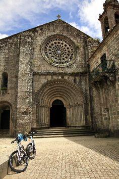 Mosteiro de Armenteira, Pontevedra.