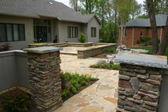1000 Images About Stone Pillars On Pinterest Stone