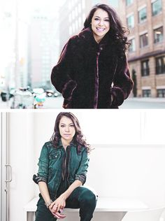 Tatiana Maslany....she is an amazing actress and seriously deserves every award she is nominated for for Orphan Black.