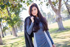 Gray Fall Outfit Fashion - Stylishlyme