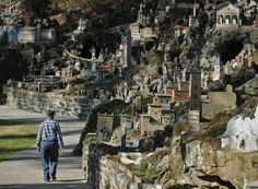 Ave Maria Grotto, Brother Joe, built his first replicas about 1912 and his last, Lourdes Basilica Church replica in 1958 at the age of 80 years old.