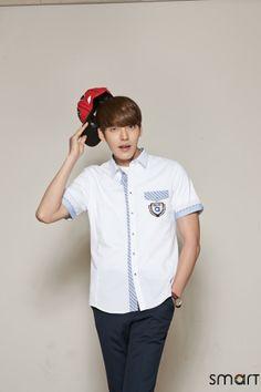 KIM WOO BIN For school uniform brand 'Smart' 2014