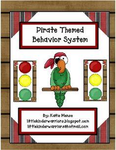 pirate themed behavior system