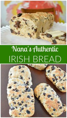 Nana's Irish Bread -Authentic Irish Raisin Bread -