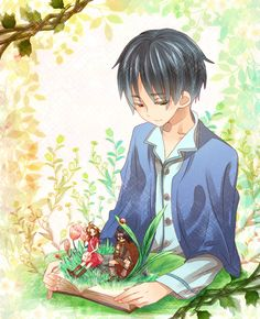 The secret world of Arrietty. Such a beautiful story of another world living in your floorboards!