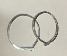 A personal favorite from my Etsy shop https://www.etsy.com/listing/289259323/hammered-hoops-sterling-silver-1