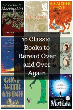 Classics books to everyone needs to read