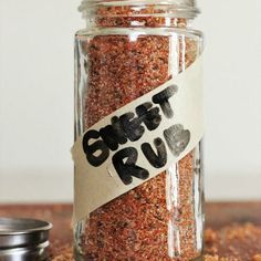 The BEST Sweet Rub for Grilled Pork and Chicken