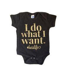 #bosslife Infant Bodysuit