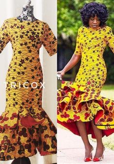 African Clothing for women African print dress Ankara dress African Party Dresses, African Bridesmaid Dresses, African Lace Dresses, African Wedding Dress, Latest African Fashion Dresses, African Dresses For Women, African Print Fashion, Prom Dresses, Summer Dresses
