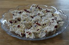 Cranberry Crunch Bark: Ingredients  20-24 oz. vanilla flavored almond bark  1 cup slivered or chopped almonds  3⁄4 cup sweetened dried cranberries  2 cups crispy rice cereal