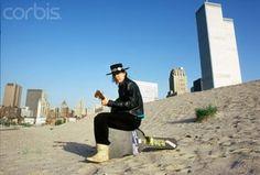 1983 - Stevie Ray Vaughan by WTC. Photo by Deborah Feingold Favorite Son, My Favorite Music, Jimmie Vaughan, Electric Guitar Kits, Brandy Love, Music Genius, Best Guitarist, Stevie Ray Vaughan, Extraordinary People