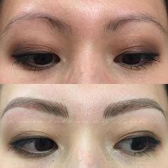 """Brows for Esteé. #permanentmakeup by Linh x"""