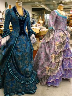 Phantom of the Opera costumes.  The blue vest has possibilities...