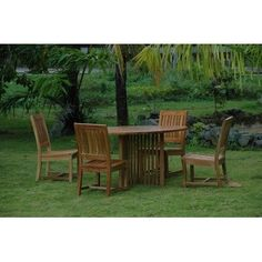 Mission 5 Piece Dining Set By Anderson Collections 2385 00 Set 110 Crafted From