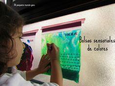 Bolsas sensoriales de colores