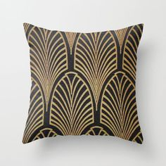 Deco Arches Pillow Cover