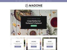 LaMadone - WordPress Blogging Theme - Handpicked Themes » Handpicked Themes