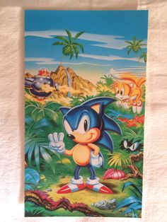 Sonic Classic Collection card 5.