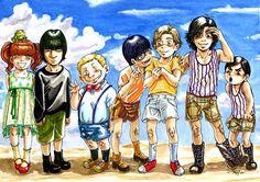 I malandrini bambini by Manechan
