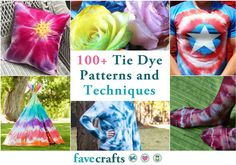 dyeing tutorials Get ready for summer with this epic collection of Tie Dye Techniques and Patterns.From tee shirts to picture frames, aprons to flip flops, these tie dye projects Tie Dye Tutorial, Tie Dye Instructions, Tie Dye Tips, How To Tie Dye, Tie And Dye, Tie Die Shirts, Diy Tie Dye Shirts, Bleach Tie Dye, Tye Dye