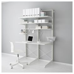 Algot wall upright shelves white artworks a tv and tvs - Besta wandschiene ...