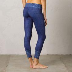 Blue Santorini Prana leggings