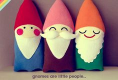 If I have a little girl in the future, her nursery will be woodland themed with little gnomes :)