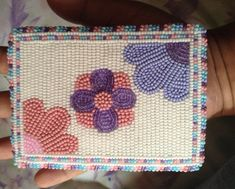 Card Holders, Tiffany, Beading, Coin Purse, Purses, Wallet, Projects, Cards, Handbags