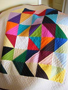 solids quilt