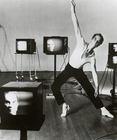 """Merce Cunningham is my inspiration to go out of the box with my choreography more. His signature technique for choreographing was called """"Chance Dance"""". Contemporary Dance, Modern Dance, Yvonne Rainer, History Of Dance, Merce Cunningham, Theater, Film Dance, John Cage, Solo Performance"""