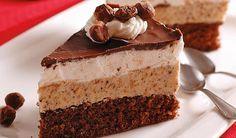 Bude sa rozplývať na jazyku: Jadranská torta - Pluska. European Dishes, Czech Recipes, Fancy Cakes, Something Sweet, No Bake Cake, Amazing Cakes, Chocolate Cake, Sweet Recipes, Tiramisu