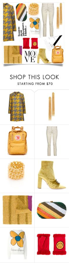 """Being yourself on purpose"" by emmamegan-5678 ❤ liked on Polyvore featuring Alice + Olivia, Ben-Amun, Fjällräven, J Brand, Amber Sceats, Oscar Tiye, Missoni, Santi, Christopher Kane and AGNELLE"