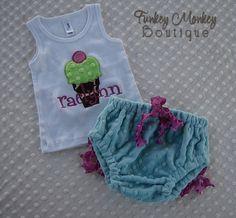 Cake Smash Minky Dot Diaper Cover Custom Design  by FunkeyMonkeyy,