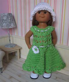98- FICHE PATRON Tenue Pomme au crochet pour poupée Wichtel : Jeux, jouets par…