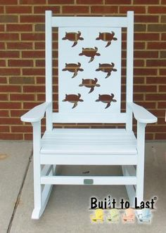 Porch Rocker - Turtles - Builttolast.com - MUST HAVE :)