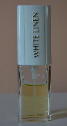 WHITE LINEN Vintage Estee Lauder Perfume Spray .25 Fl Oz 75% Full Mini Purse Sz #EsteeLauder