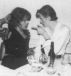 David Johansen and David Bowie