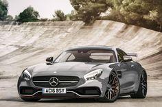 Mercedes' 5.5-litre AMG V8