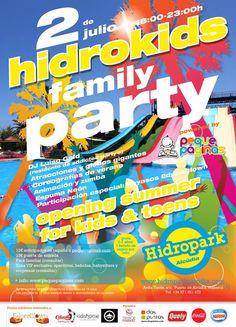 Hidrokids family party - Alcúdia - peques y adolescentes