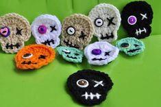 Crochet Skulls