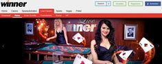 Poker, Winner Casino, Online Casino, Pinball, Arcade Games, Broadway Shows, Euro, Arcade Game Machines, Reading