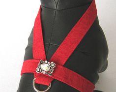 XXXS  M Yellow Dog Harness Select Embellishment  DOG