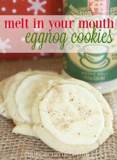 Eggnog Dessert Recipes: Delicious Eggnog Cookies