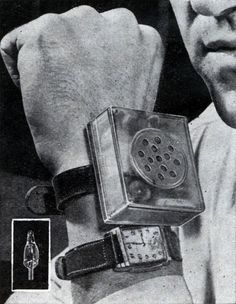 Tiniest Tube Paves Way for Wrist-Watch Radio - Modern Mechanix, November 1947 - A month later, the transistor was invented