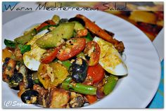 A Homemaker's Diary: Winter Warmth: Warm Mediterranean Salad