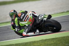 Monza, ITA - Tom Sykes (Kawasaki Racing Team) won the only race of the day at Monza, a contest which was halted at half race distance due to a fresh fall of rain, meaning that half points were awarded. #Superbike