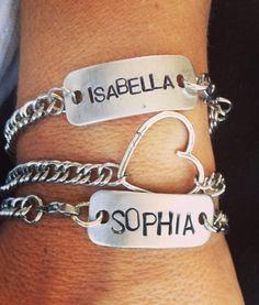 id bracelet. love it.