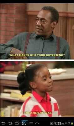 Cosby show. If only it were that easy!