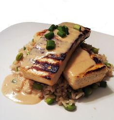 A Profound Hatred of Meat: Lemongrass Tofu with Coconut Soy & Brown Rice